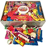 AMAZING Retro Sweets Selection Gift Box! LUXURY Clear Lid Box Brimming with (OVER 1.1KG) your Favourite Wrapped Old-Fashioned Sweets! PERFECT GIFT for Birthdays, Christmas, Congratulations, Easter, Father's Day, Get Well Soon and much much more...