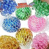 Knautsch Ball m. Glitter farb. sort. DIS. ca. 6 cm D