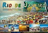 Rio de Janeiro, Olympische Spiele 2016 im brasilianischen Hexenkessel (Wandkalender 2019 DIN A2 quer): Eine Reise in die Stadt der vielen Gesichter, ... (Monatskalender, 14 Seiten ) (CALVENDO Orte)