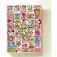 Alicia Souza 35 Reasons Why I Love You Notebook