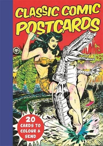 Classic Comic Postcards: 20 Cards to Colour & Send (Colouring Books)
