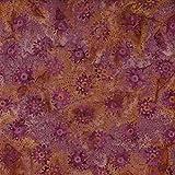 Fabric Freedom Dusky Pink Räder Design 100% Baumwolle Bali Batik tie dye Muster Stoff für Patchwork, Quilten &,–(Preis pro/Quarter Meter)