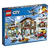 Stazione Sciistica Compatibile con Lego 60203 Costruzioni Giocattolo