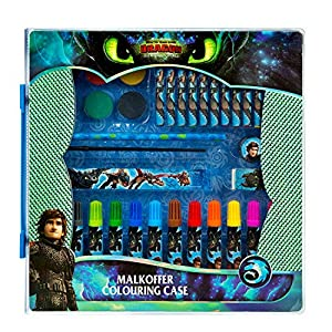 Undercover drra4292malkoffer, DreamWorks Dragons, Multicolor