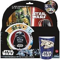 Star Wars 3-Piece Melamine Breakfast Set Without Frame (Stor 82490)