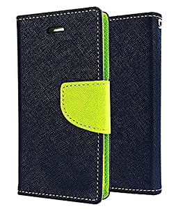 Kolorfame Flip cover for Apple Iphone 4-Blue