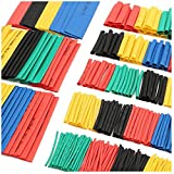 SLB Works 2X(328Pcs Car Electrical Cable Heat Shrink Tube Tubing Wrap Sleeve Assortme V5W6