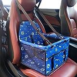 Pet Car Bag, Welpe Netztasche - Double Padded Breathable - Pet Out Car Paket (gemeinsame Für Hunde Und Katzen, 5 Farben Erhältlich) (Farbe : Bone blue.)