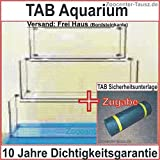 TAB Aquarium Rechteck LxBxH 150x50x60cm / Liter 450 / Glas 10mm