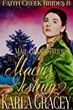 Mail Order Bride - Maeve's Destiny: Clean and Wholesome Historical Western Cowboy Inspirational Romance (Faith Creek Brides Book 8)