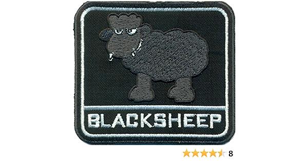Blacksheep Black Sheep Schwarzes Schaf Heavy Metal Punk Biker Aufnäher Patch Auto