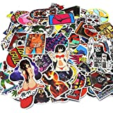 Gadgets WRAP Car Stickers 100 PCS Waterproof Graffiti Vinyl Stickers, Cool Laptop Stickers Motorcycle Bicycle Luggage Decal Graffiti Patches Skateboard Stickers - Random Sticker Pack -CO-