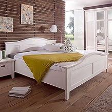 Bett weiß 160x200 landhaus  Suchergebnis auf Amazon.de für: landhausbetten weiß