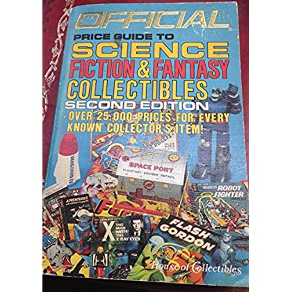 Official 1986 Price Guide to Science Fiction and Fantasy Comics