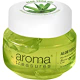 Aroma Treasures Aloe Vera Gel for Hair, Skin, Body & Beard ~ 100% Natural AloeVera - 1000gms