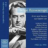 Les Chanteurs Légendaires Vol.8 / Helge Roswaenge