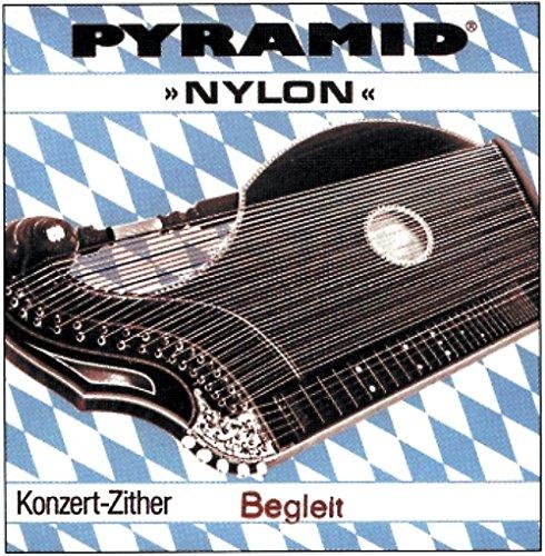 Pyramid Pyramid Saite für Zither Nylon. Konzertzither Satz