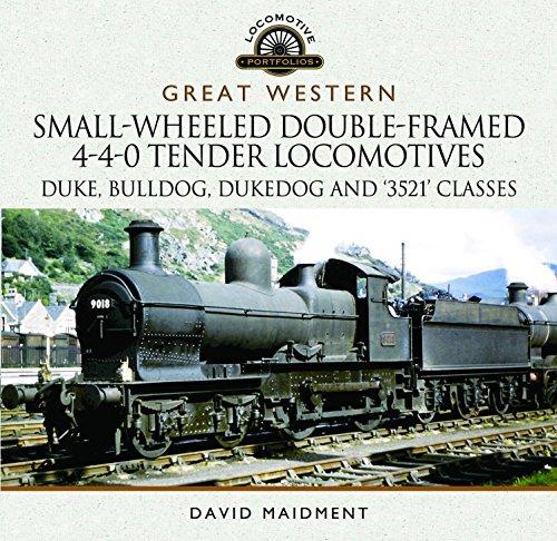 Price comparison product image Great Western Small-Wheeled Double-Framed 4-4-0 Tender Locomotives: Duke,  Bulldog,  Dukedog and 3521 Classes (Locomotive Portfolios)