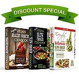 Everyday Vegan Cookbook Box Set: Everyday Vegan Slow Cooker Cookbook, Vegan Mediterranean Slow Cooker Cookbook and Vegan Healthy Desserts (English Edition)