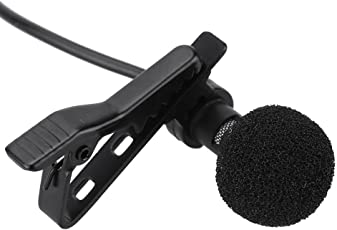Paytech 3.5mm Clip Microphone For Youtube, Collar Mike For Voice Recording, Lapel Mic Mobile, Pc, Laptop, Android Smartphones, Dslr Camera