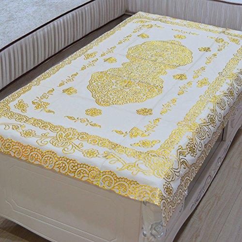 48 Zoll Breite Rechteckiger Tisch (European-style coffee table cloth,pvc,wasser und Öl beweis,nicht waschbar tisch matt tischtuch,rechteckiger tee tisch matte,dust mat-A 72x122cm(28x48inch))