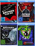 Batman DC Universe Animated Movie - 4 Filme im Set - Year One + Under The Red Hood + Gotham Knight + Batman Of The Future
