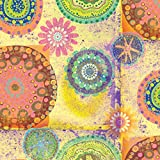 The Gift Wrap Company 6 Count Premium Wrapping Paper Rolls, Majestic Tiles, Multicolor