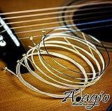 Adagio Pro ACOUSTIC GUITAR Strings Full Pack LIGHT/MEDIUM Gauge 12-52 Phophor Bronze