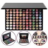 KRABICE Lidschatten-Palette, kühne und helle Sammlung, lebendige, Lidschatten-Augenschatten-Paletten-Make-up-Kit-Set (88 Lidschatten-Palette)# 7