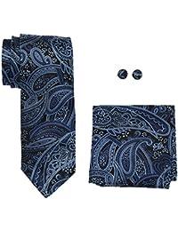 landisun Paisley, Cravates Set Homme