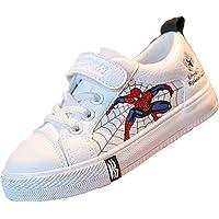 MIAOXI Scarpe da Ginnastica Basse per Bambini Spiderman Scarpe da Corsa Sportive Casual per Ragazzi Cartoni Animati…