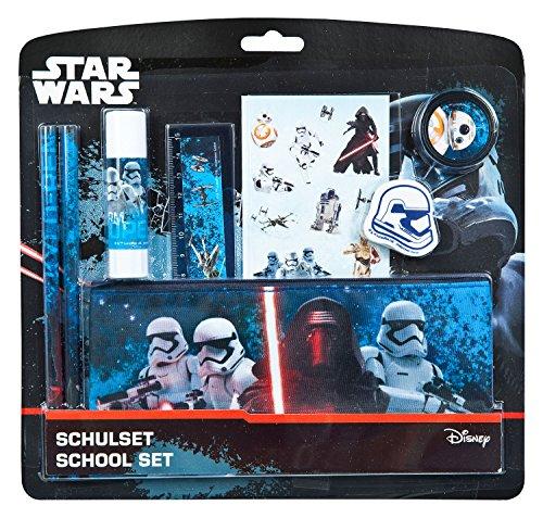 Undercover swmk6454–Set, Material Escolar Star Wars, 8Piezas