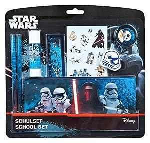 Undercover swmk6454-Set, Material Escolar Star Wars, 8Piezas