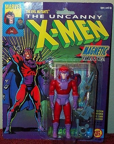 The Uncanny X-Men Evil Mutant MAGNETO 5 Action Figure (1991 ToyBiz) by X Men