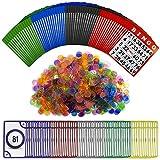 Royal Bingo Supplies Bingo Royale Bundle: 1.000 Chips, 100 Karten und EIN Jumbo-Deck