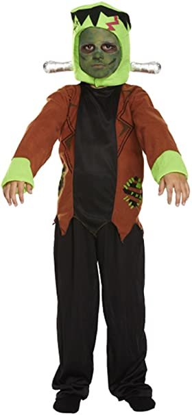 Frankenstein Costume Boys Frankenstein Monster Scary Halloween ...