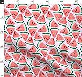 Wassermelone, Melone, Rosa, Obst, Essen Stoffe -