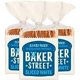 3 x 14 Slices Medium Sliced White Toast Bread Bakery Breakfast Sandwich Loaf