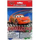Disney Pixar Cars 2 Latex Balloons [8 Per Pack]
