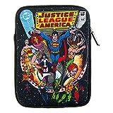 Justice League (25,4 cm) Tablet Sleeve aus Neopren Retro Comic