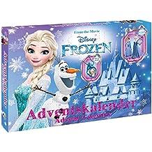Craze 57309–Calendario dell' Avvento Disney Frozen