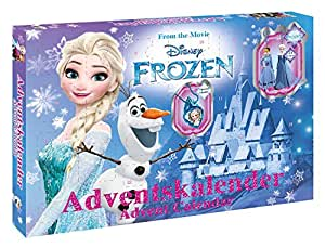 craze 57309 advent calendar frozen multi color amazon. Black Bedroom Furniture Sets. Home Design Ideas