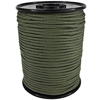 PP Seil Polypropylenseil SH 2mm 100m Farbe Oliv (2802) Geflochten
