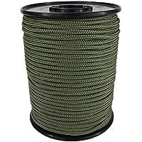 PP Seil Polypropylenseil SH 3mm 100m Farbe Oliv (2802) Geflochten