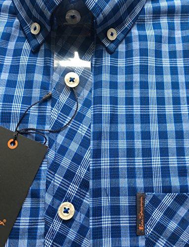 Ben Sherman -  Camicia classiche  - Uomo Blue