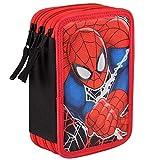 Spiderman-Astuccio Triplo Completo (cerdá 2700-0168)