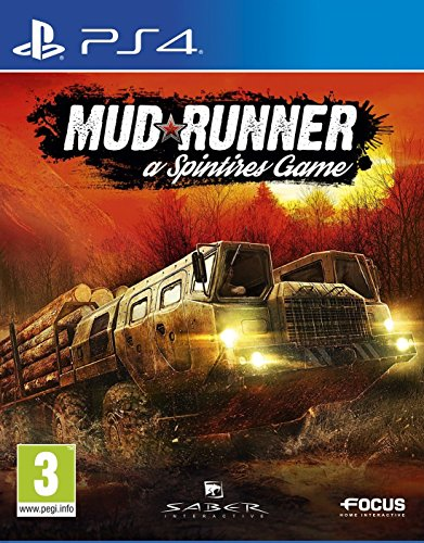 Spintires Mudrunner PlayStation 4