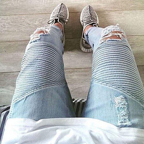 Bold Manner Herren Jeanshose Style 2 Blue