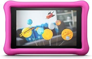 Kindgerechte Amazon FreeTime-Hülle für Fire 7 (7-Zoll-Tablet, 7. Generation - 2017), Pink