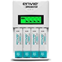 Envie 2800mah 4nos rechargable battery with ECR11 Speedster charger